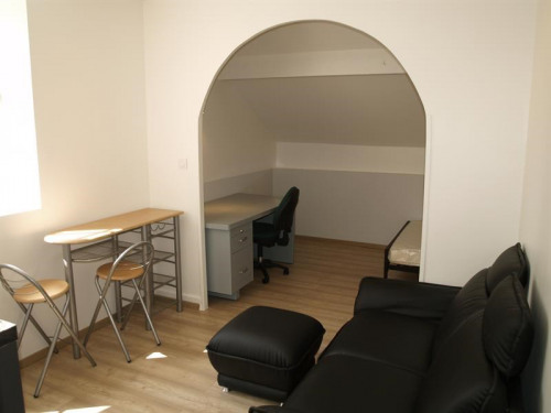 Rental - Apartment 2 rooms - 30 m2 - Limonest - Coin nuit - Photo