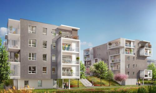 Producto de inversión  - Apartamento 3 habitaciones - 61,45 m2 - Saint Martin d'Hères - Photo