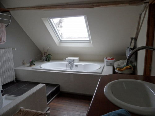 Продажa - Длинный дом 6 комнаты - 131 m2 - Les Rosiers sur Loire - Photo