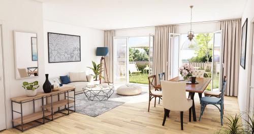 Produit d'investissement - Appartement 4 pièces - 81,93 m2 - La Teste de Buch - Photo