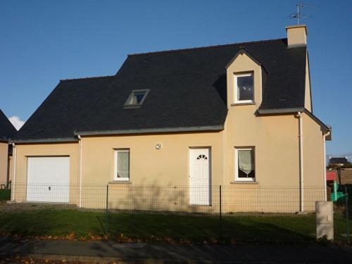 Location - Maison contemporaine 5 pièces - 100 m2 - Pordic - Photo