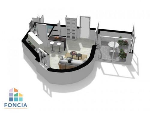 Verkauf - Studio - 22,24 m2 - Lyon 2ème - Photo