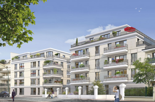 Investment property - Apartment 2 rooms - 40 m2 - Nogent sur Marne - Photo