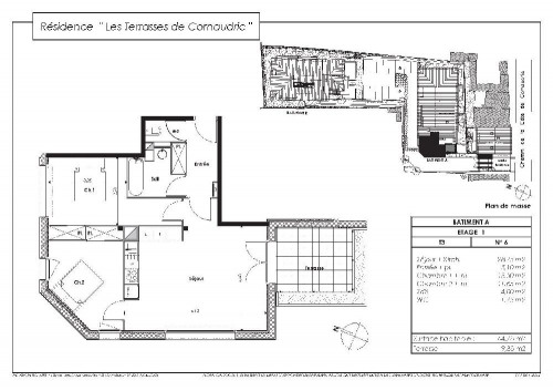 Location - Appartement 3 pièces - 64,75 m2 - L'Union - Photo