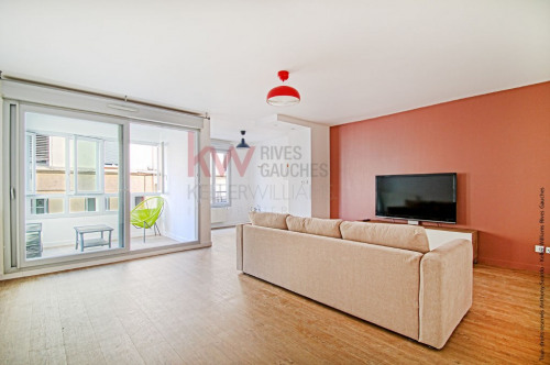 Vente - Appartement 2 pièces - 55 m2 - Lyon 3ème - Photo