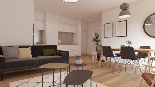 Investment property - Apartment 5 rooms - 96 m2 - Bordeaux - Photo