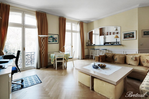 Verkauf von Luxusobjekt - Wohnung 3 Zimmer - 73 m2 - Paris 6ème - Photo