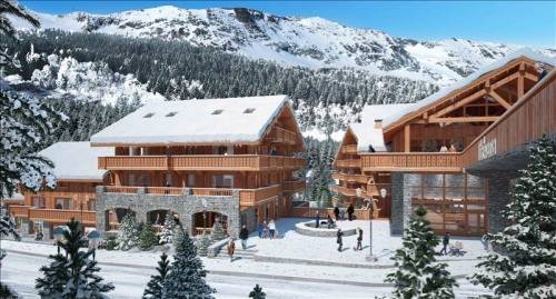Vente - Appartement 3 pièces - 59,75 m2 - Meribel les Allues - Photo