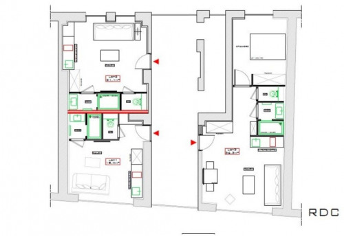 Vente - Studio - 18 m2 - Villeurbanne - Photo