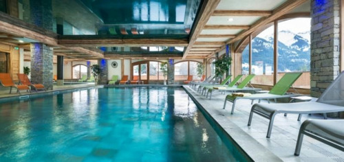 New home sale - Programme - Châtel - Piscine - Photo
