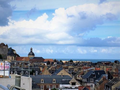 New home sale - Programme - Dieppe - Vue coté ville - Photo
