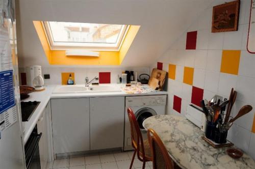 Locação para as férias - Apartamento 4 assoalhadas - 120 m2 - Puteaux - Cuisine - Photo