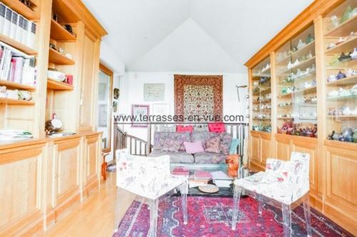 Revenda residencial de prestígio - Duplex 4 assoalhadas - 102 m2 - Levallois Perret - Photo