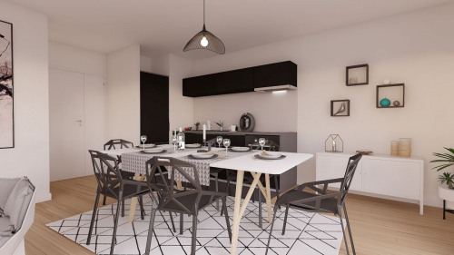 New home sale - Programme - Suresnes - Photo