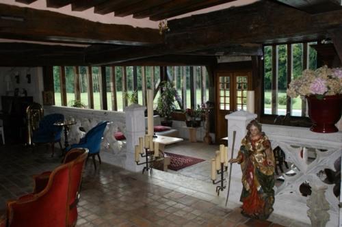 Venta de prestigio  - casa solariega 7 habitaciones - 270 m2 - Le Neubourg - Salon séjour - Photo