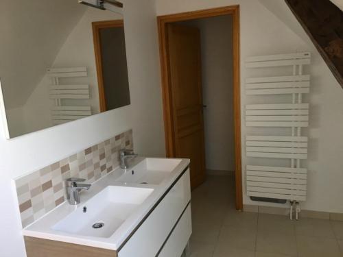 Vente - Maison / Villa 4 pièces - 129 m2 - Senlis - Salle de bain parents avec WC - Photo