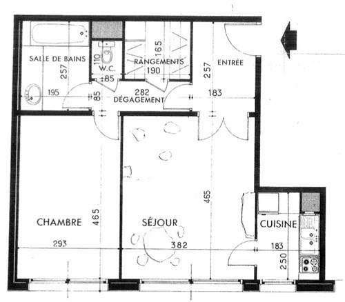 Vente appartement Paris 16ème 445000€ - Photo 3