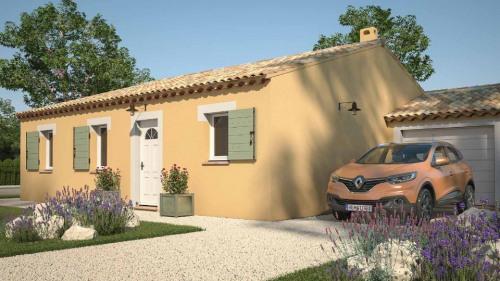 Verkoop  - Bouwproject 4 Vertrekken - 60 m2 - Calvisson - Photo