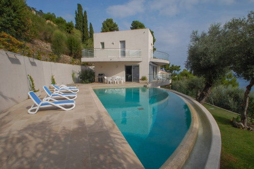 Deluxe sale - Villa 10 rooms - 300 m2 - Menton - Photo