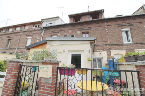 Vente - Maison de ville 3 pièces - 55 m2 - Sotteville lès Rouen - Photo
