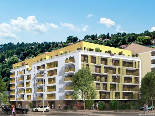 Produit d'investissement - Appartement 2 pièces - 40,5 m2 - Nice - Photo