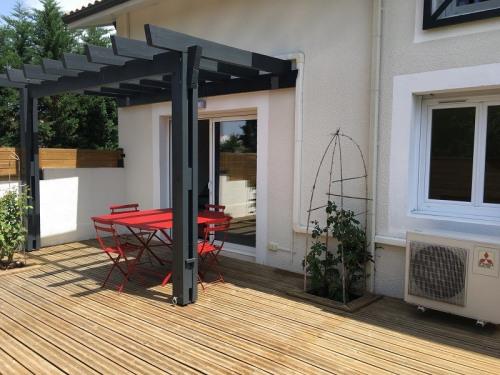 Location vacances - Appartement 2 pièces - 79 m2 - Biscarrosse - Photo