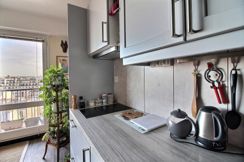 Location - Studio - 36,5 m2 - Paris 20ème - Photo