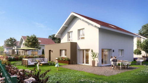 Vente - Projet de construction 6 pièces - 137 m2 - Massongy - Photo