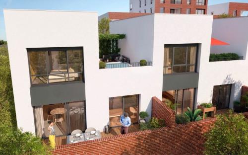 Kapitalanlag - Loft 5 Zimmer - 117 m2 - Toulouse - Duplex_Rooftop_Factory_Toulouse - Photo