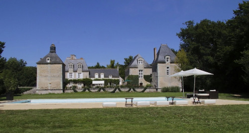 Sale - Chateau 13 rooms - 650 m2 - Neuillé Pont Pierre - Photo