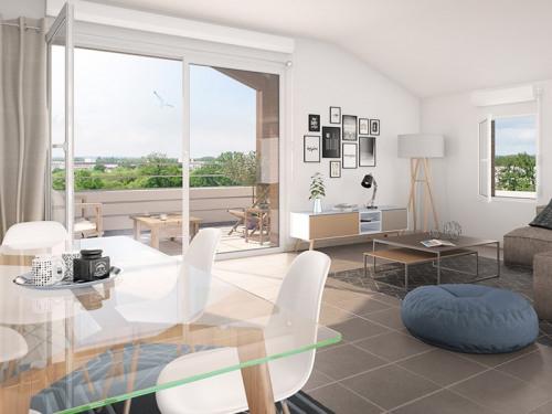 Produit d'investissement - Appartement 3 pièces - 60,12 m2 - Olonne sur Mer - Photo