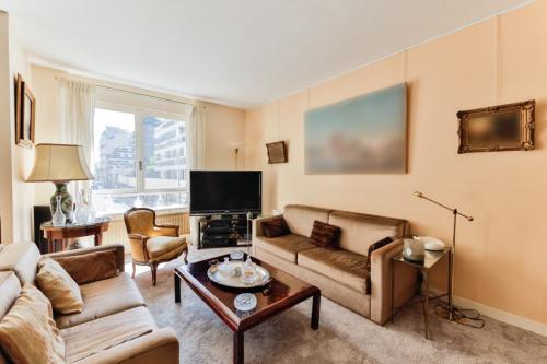 Verkauf von Luxusobjekt - Wohnung 5 Zimmer - 126 m2 - Paris 16ème - Photo