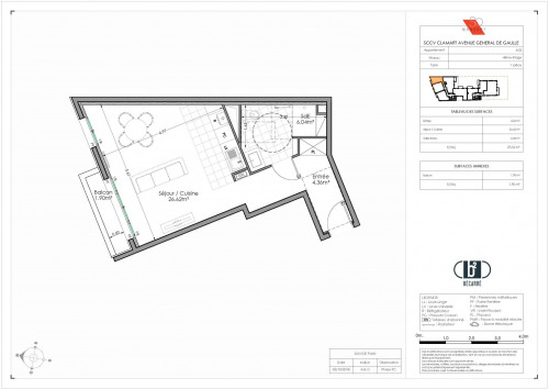 Producto de inversión  - Apartamento 2 habitaciones - 38 m2 - Clamart - Photo