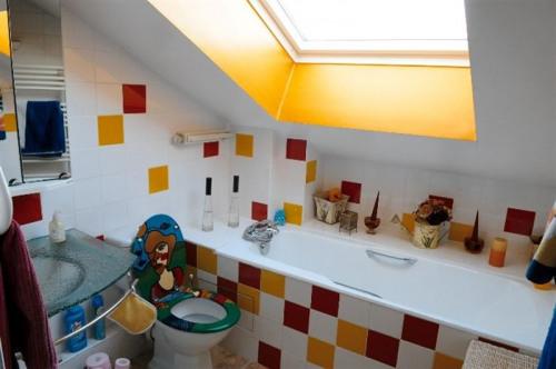 Locação para as férias - Apartamento 4 assoalhadas - 120 m2 - Puteaux - Salle de bains - Photo