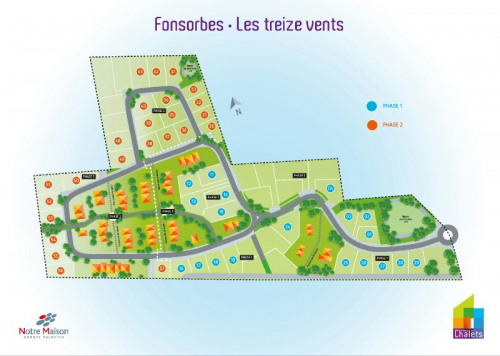 New home sale - Lotissement - Fonsorbes - Photo
