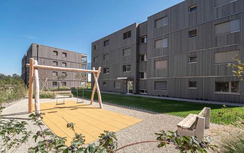 Vermietung - Wohnung 3 Zimmer - 74 m2 - Martigny-Bourg - Photo
