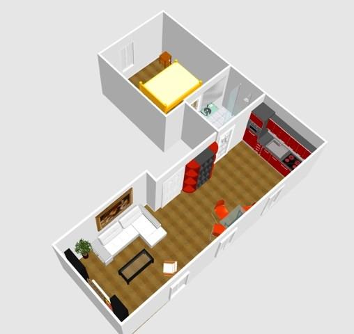Vente appartement Paris 17ème 470000€ - Photo 5