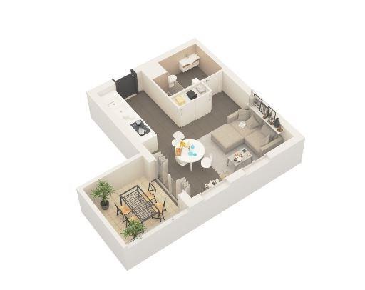 Produit d'investissement appartement Ajaccio 106000€ - Photo 1