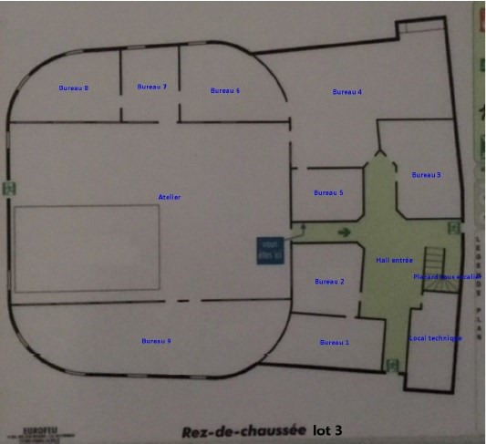 Sale office Toulouse 1134000€ - Picture 4