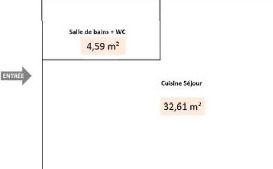 Location appartement Lyon 8ème 540€ CC - Photo 1