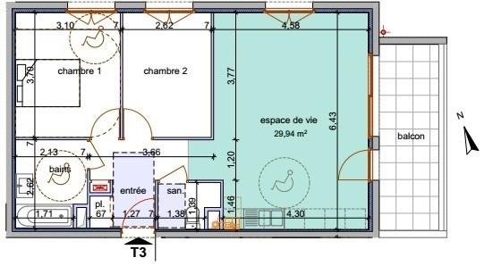 Vente appartement Annemasse 254400€ - Photo 4