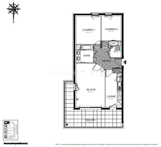 Vente appartement Roquebrune-cap-martin 462000€ - Photo 3
