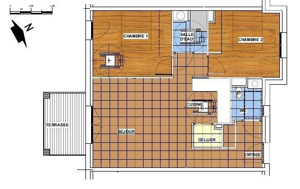 Sale apartment Lescar 143600€ - Picture 3