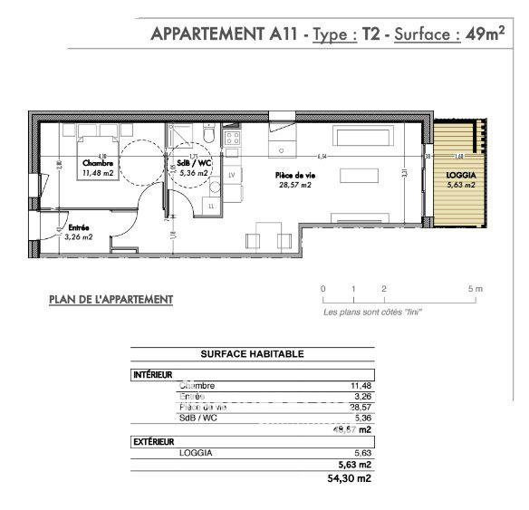 Vente appartement Reignier 190000€ - Photo 5