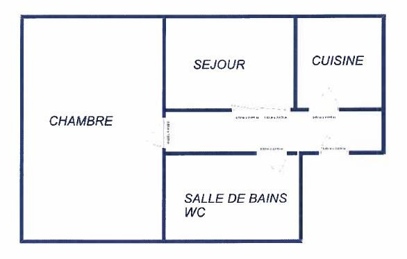 Location appartement Dijon 500€ CC - Photo 1