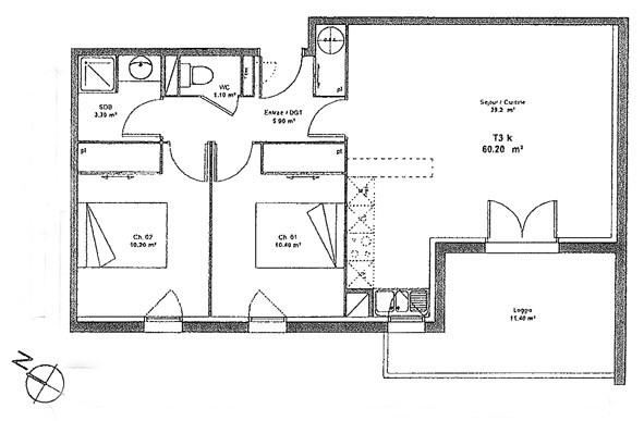 Location appartement Aussonne 659€ CC - Photo 2