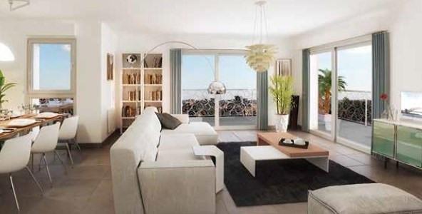Deluxe sale apartment Lyon 3ème 613480€ - Picture 2