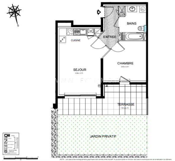 Vente appartement Roquebrune-cap-martin 313000€ - Photo 3