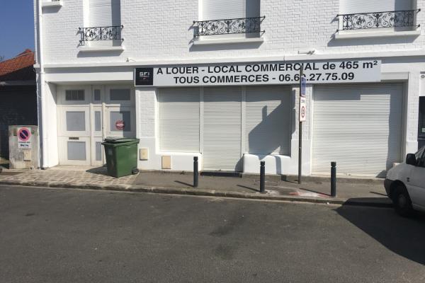 Local commercial tout commerces de 475 m² avec extraction