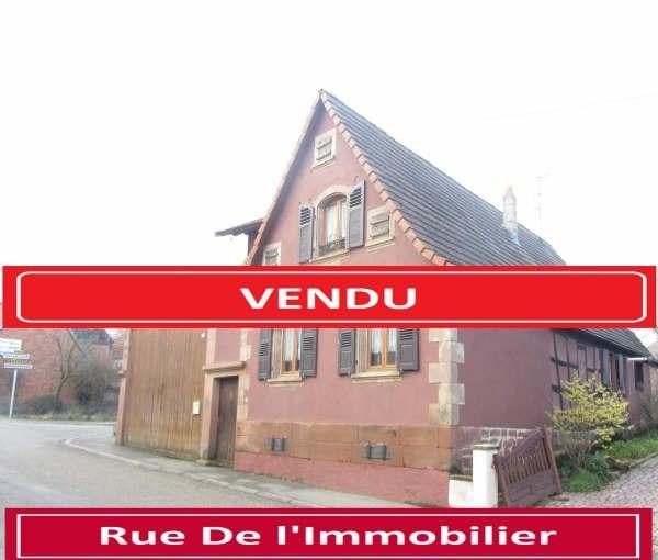 Sale house / villa Wickersheim wilshausen 288000€ - Picture 1